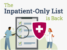 Inpatient-Only List Graphic